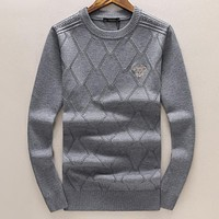 Versace  Fashion Casual Loose Top Sweater