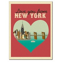 SALE of New York City, New York - Heart