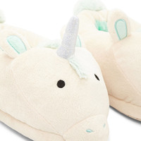 Unicorn Pom Pom Slippers