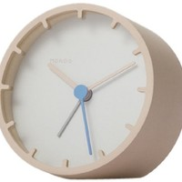 Tock Alarm Clock in Beige - Pop! Gift Boutique