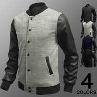 Men's Fashion Hoodies Slim Korean Stylish Strong Character Mosaic Men Jacket [6528748355]