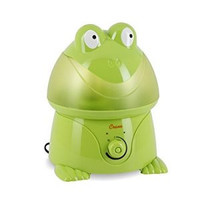 Ultrasonic Cool Mist Humidifier - Green Frog