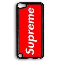 Supreme New York Clothing Skateboarding iPod Touch 5 Case