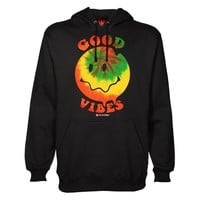 HAPPY FACE GOOD VIBES HOODIE
