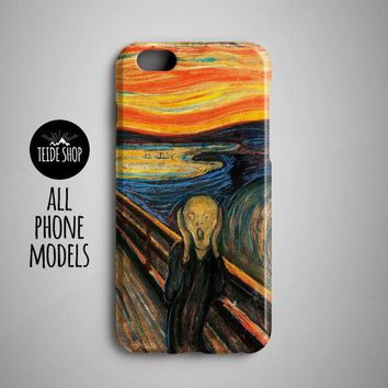 Munch Painting Iphone 7 Case Iphone 8