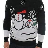 Ugly Christmas Sweater - Headless Snowman Sweater by Tipsy Elves