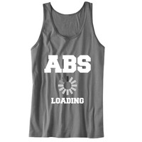 ABS Loading Unisex Tank Top - For Gym Time - Great Motivation