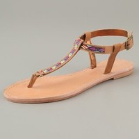 Twelfth St. by Cynthia Vincent Sedona Embroidered Sandals