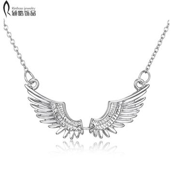 Valentine's day gifts Harry White K Necklaces Magic Angel Wings Choker Necklaces For Women Potter Necklace & Pendants Jewelry