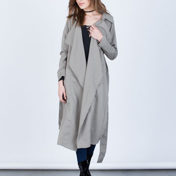 On the Go Trench Jacket