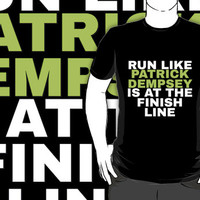 Greys Anatomy: Run Like Patrick Dempsey by drmedusagrey