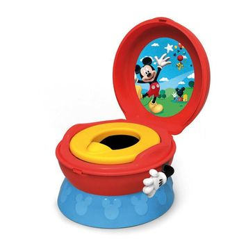 Disney Baby Toilet Training Children Potty Trainer Seat Chair, Mickey Mouse Day-First™