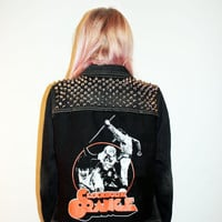 A Clockwork Orange Studded Denim Jacket