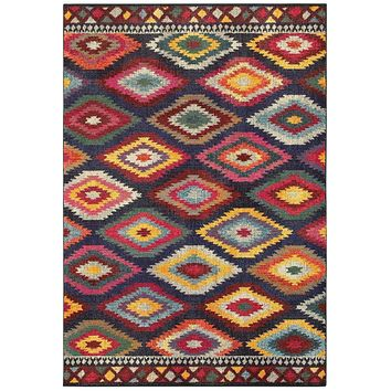 Area Rug by Oriental Weavers Bohemian Collection 668N5