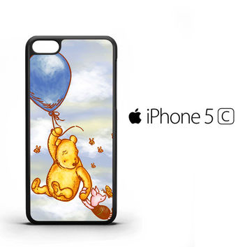 Vintage Winnie the Pooh balloon Y0726 iPhone 5C Case