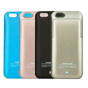 iPhone 5 5C 5S 6 6s 7 Plus Ultra Slim External Power Bank Battery Charger Case