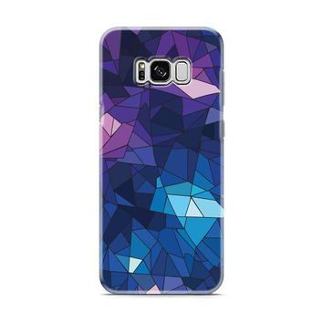 With Blue Glass Design Samsung Galaxy S8 | Galaxy S8 Plus case