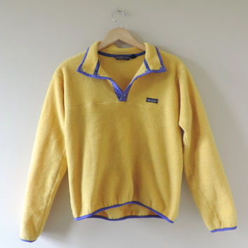 Vintage Adult Patagonia Yellow & Purple from WildKardVintage