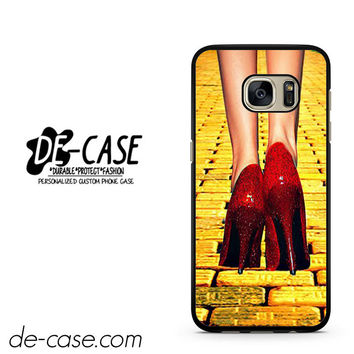 Yellow Brick Road Dorothy Wizard Of Oz Inspired Cute Ruby Red DEAL-12122 Samsung Phonecase Cover For Samsung Galaxy S7 / S7 Edge