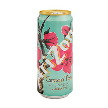 Arizona Tea Green Tea 11.5 Oz Slim Can Pack of 12