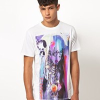 Supremebeing T Shirt White Canvas Project By Food One at asos.com