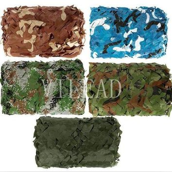 VILEAD 9 Colors 2M*2M Protective Camouflage Netting Camo Net  For Outdoor Pool Covers Boat Roof Military Shelter Beach Tent