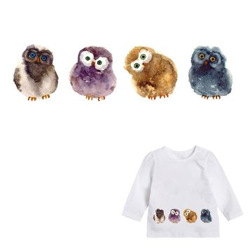 XC Ironing on Heat Transfers Patches Stickers Kids Adorable Chick Clothes Patch DIY Cute Animal Accessory Washable Appliques