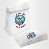 """Los Pollos Hermanos"" Lunch Sacks"