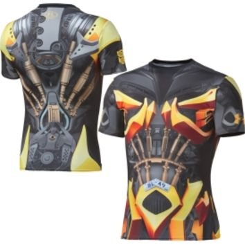 Under Armour Men's Alter Ego Transformers Bumblebee Compression Short Sleeve Shirt | DICK'S Sporting Goods