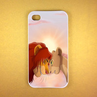 The Lion King Simba Case for iPhone 4/4S iPhone 5/5S/5C and Samsung Galaxy S3/S4 in shop berkahilahi