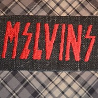 Melvins embroidered Iron-On Punk Alternative Patch