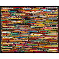 White Mountain Puzzles Pencil Collage - Puzzle Haven
