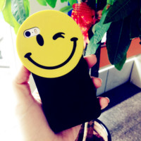 Cute smiling face Case Cover for Apple iPhone 5s 5 SE 6 6S 6 Plus 6S Plus 11080501