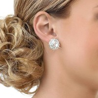 Rhinestone Dance Earrings; Balera