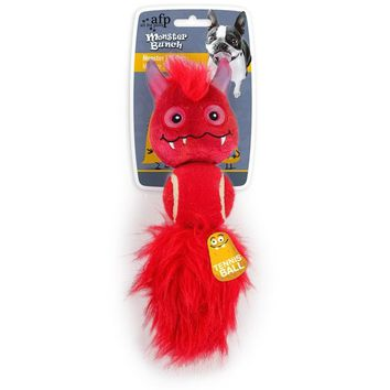 All For Paws Dog Red Monster 3'N'1 Toy