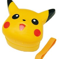 Pokemon Pikachu Shaped Bento Box Two Tiers #3159