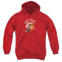 Scott Pilgrim - Scott Poster Youth Pull Over Hoodie