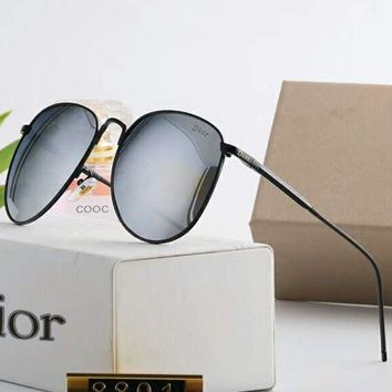 ac NOVQ2A Dior polarized metal men and women big box sunglasses F-A-SDYJ NO.4