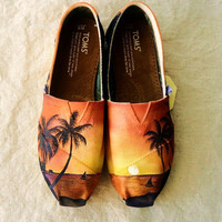Tropical Sunset TOMS