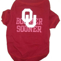 Oklahoma Sooners Pet Shirt MD