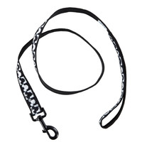 Disney Parks Tails Mickey Checkered Dog Leash XS/S New with Tags