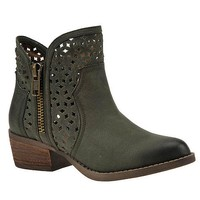 Etta Olive Ankle Boot