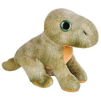 Wildlife Tree 3.5 Inch Brontosaurus Mini Small Stuffed Animals Bulk Bundle of Dinosaur Toys or Prehistoric Dino Party Favors for Kids Pack of 12
