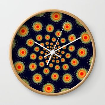 Stars motion Wall Clock by Natalia Bykova