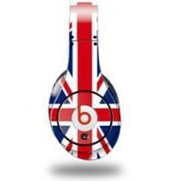 My Associates Store - Union Jack 02 Decal Style Skin (fits genuine Beats Studio Headphones - HEADPHONES NOT INCLUDED)
