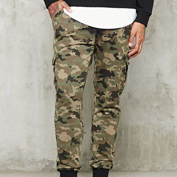Camo Cargo Sweatpants