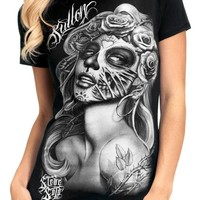 "SA ""Querida Muerta"" Tee by Sullen Clothing (Black)"