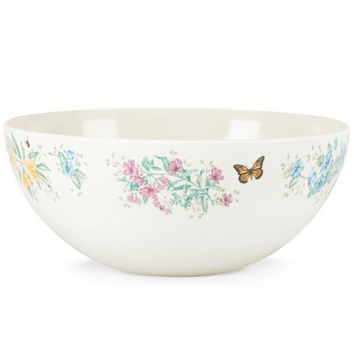 Butterfly Meadow® Melamine Salad Bowl by Lenox