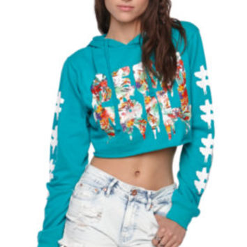 Been Trill Palms Cropped Hoodie at PacSun.com