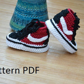 Crochet vans pattern, vans crochet shoes